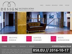 Miniaturka domeny mdesign-project.pl