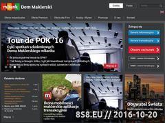 Miniaturka domeny www.mdm.pl