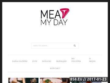Zrzut strony Przepisy na mięso