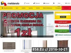 Miniaturka domeny www.meblando.pl