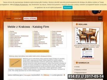 Zrzut strony Nowoczesne meble, oferta meble pokojowe, duży wybór meble Kraków