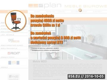 Zrzut strony PLAN meble biurowe - autoryzowany dystrybutor mebli MDD