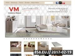 Miniaturka domeny www.meble-varsovia.pl