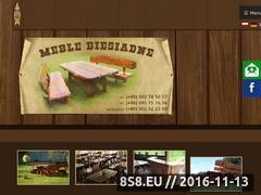 Miniaturka www.meblebiesiadne.pl (Meble do lokali - Meble Biesiadne Piotr Otawa)