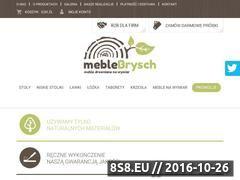 Miniaturka domeny www.meblebrysch.pl