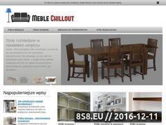 Miniaturka domeny www.meblechillout.pl