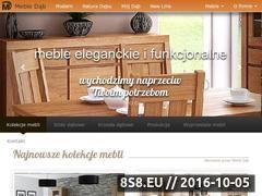 Miniaturka Eleganckie meble dębowe - Meble Dąb (www.mebledab.com.pl)
