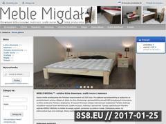 Miniaturka domeny www.meblemigdal.pl