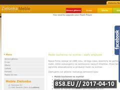 Miniaturka domeny www.meblezielonka.pl