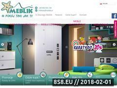 Miniaturka domeny www.meblik.pl