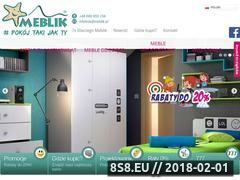 Miniaturka www.meblik.pl (Meble dla dzieci)