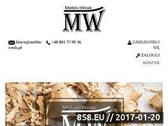 Miniaturka domeny www.meblo-wosk.pl
