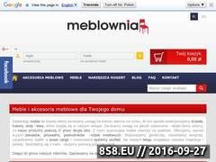 Miniaturka Krzesła barowe, hokery oraz meble (meblownia.pl)