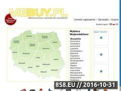 Miniaturka www.mebuy.pl (Ogłoszenia kup i sprzedaj z całej Polski)