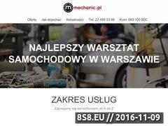 Miniaturka domeny mechanic.pl