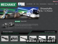 Miniaturka domeny www.mechanix.com.pl