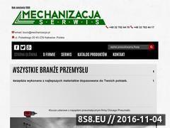 Miniaturka domeny mechanizacja.pl