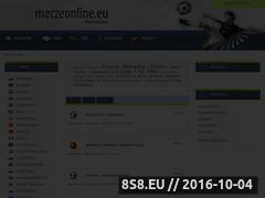 Miniaturka domeny www.meczeonline.eu