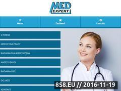 Miniaturka domeny med-expert.pl