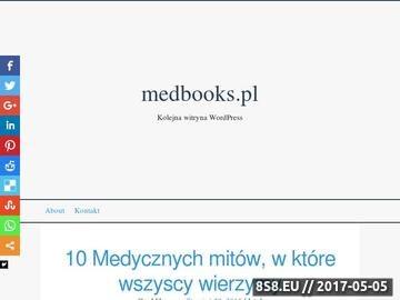 Zrzut strony Księgarnia medyczna