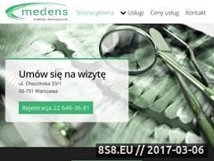 Miniaturka domeny www.medens.pl