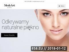 Miniaturka domeny mediartclinic.pl