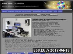 Miniaturka medias.net.pl (Archiwizacja wideo, audio i foto)