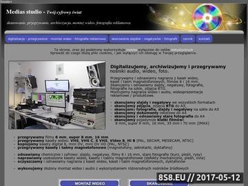 Zrzut strony Digitalizacja kaset wideo, audio, filmów 8mm oraz skanowanie slajdów i negatywów