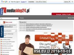 Miniaturka domeny www.mediasklep24.pl