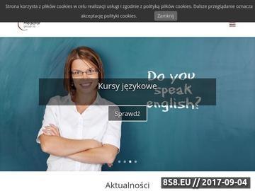 Zrzut strony Kursy i szkolenia, szkolenia unijne, mediator