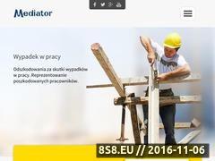 Miniaturka mediatorexpert.pl (Odzyskiwanie odszkodowań powypadkowych)