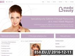 Miniaturka domeny medic-beauty.pl