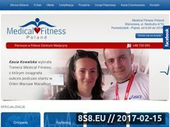 Miniaturka domeny www.medical-fitness.com.pl