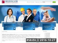 Miniaturka domeny www.medicor.pl