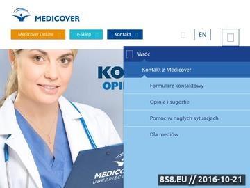 Zrzut strony Prywatna opieka medyczna w ramach ubezpieczenia - pakiet medyczny Medicover