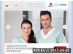 Miniaturka medicstar.pl (Odzież medyczna)