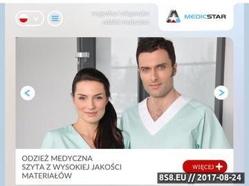 Zrzut strony Odzież medyczna