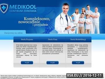 Zrzut strony Medycyna pracy, poradnia lekarska