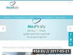 Miniaturka domeny www.mediraty.pl