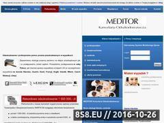 Miniaturka domeny www.meditor.net.pl