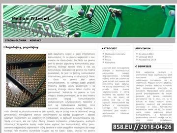 Zrzut strony Projektowanie stron internetowych Gliwice i Katowice
