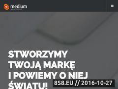 Miniaturka domeny medium-reklama.pl