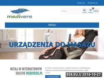 Zrzut strony MEDIVERS - sklep internetowy