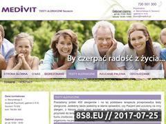 Miniaturka domeny www.medivit.pl
