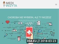 Miniaturka mediwizyta.pl (Wizyty domowe Szczecin)