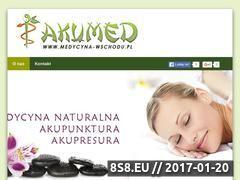 Miniaturka domeny www.medycyna-wschodu.pl
