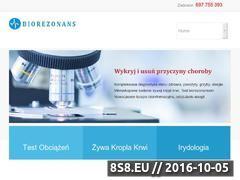 Miniaturka domeny medycynanaturalna.zgora.pl