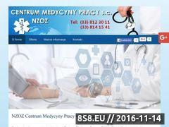 Miniaturka domeny www.medycynapracybielsko.pl