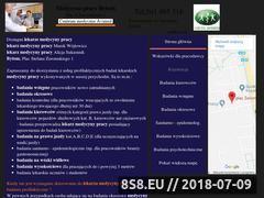 Miniaturka medycynapracybytom.pl (Medycyna pracy Bytom)