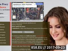 Miniaturka medycynapracyczestochowa.pl (Lekarz medycyny pracy Częstochowa)